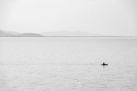 Boating on the Great Salt Lake #1