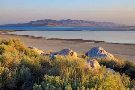 Antelope Island at Sunrise #3