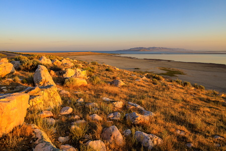 Antelope Island at Sunrise #2