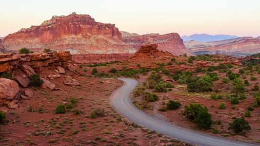 Capitol Reef Sunset #4