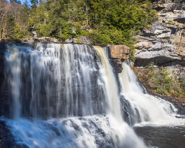 Blackwater Falls at Eye Level