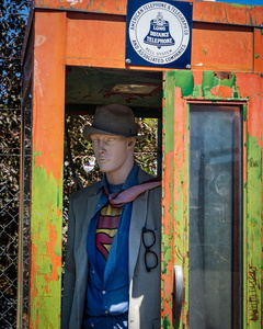 Superman in a Phone Booth